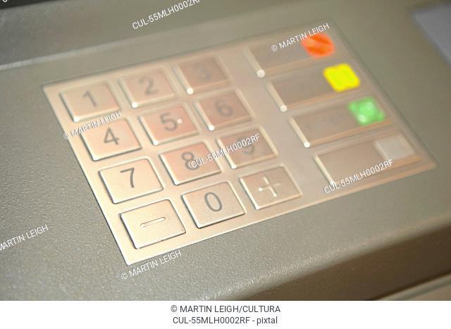 Cashpoint keypad
