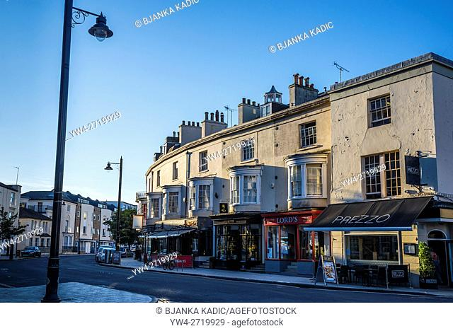 Restaurants in Oxford Street, Southampton, Hampshire, England, UK