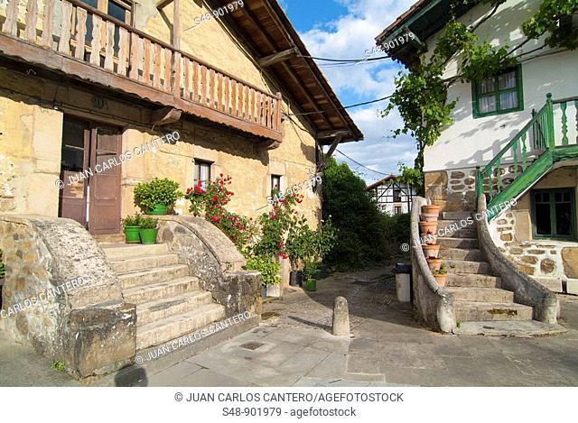 Farmhouse in Orozko. Vizcaya. Basque Country. Spain