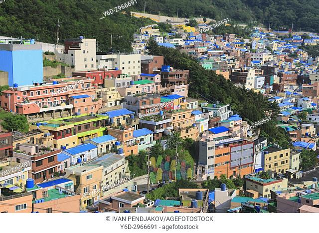 Gamcheon Culture Villiage, Busan, South Korea