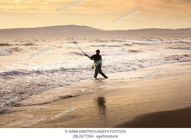 Angler,Monterey Bay,California ,USA