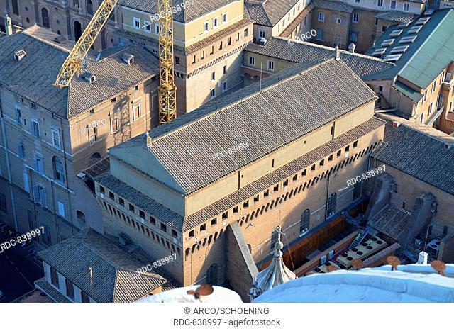 Sixtinische Kapelle, Vatikanische Museen, Vatikanstadt