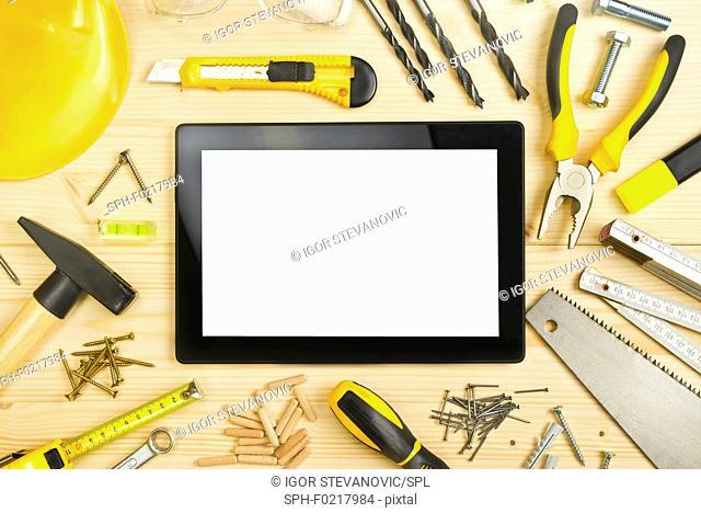 Carpentry, conceptual image