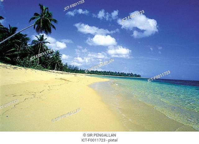 Domenican Republic, Las Terranas, the shoreline