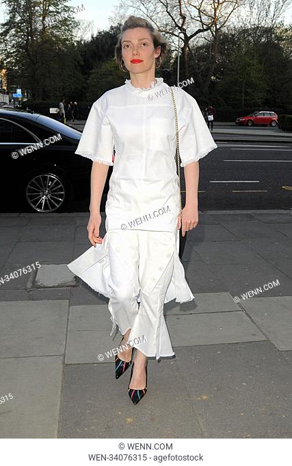 Various celebrities attend Fashioned from Nature private view Featuring: Camilla Rutherford Where: London, United Kingdom When: 18 Apr 2018 Credit: WENN