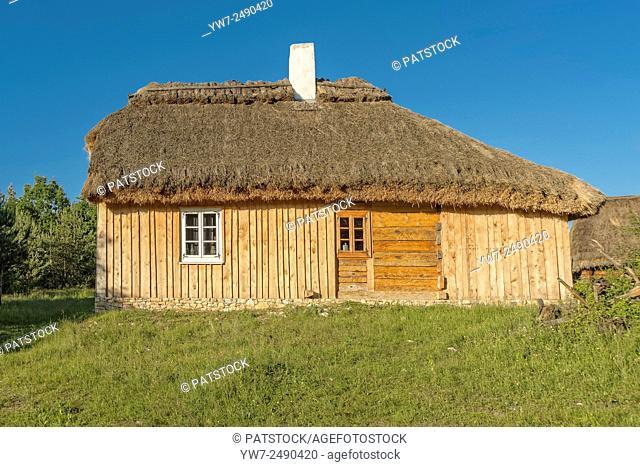 Old house Tokarnia open-air museum, Poland