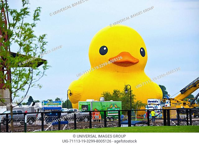 Minnesota, Duluth, Tall Ships Festival 2016, World's Largest Rubber Ducky