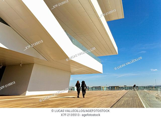 Veles e Vents, building by David Chipperfield, Port Americas Cup, Valencia, Spain