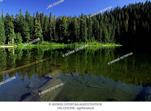Evans Lake, Alpine Lakes Wilderness, Mt Baker-Snoqualmie National Forest, Washington