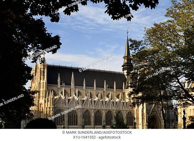 Notre Dame du Sablon Brussels Belgium