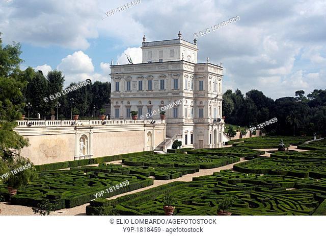 Villa Doria Pamphili, the Casino del Bel Respiro  Rome, Italy, Lazio, Europe