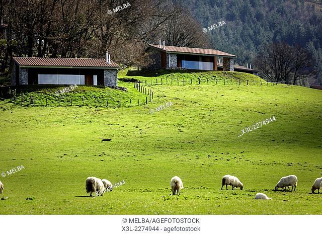 Irrisarri Land, recreational center. Igantzi. Navarre. Spain