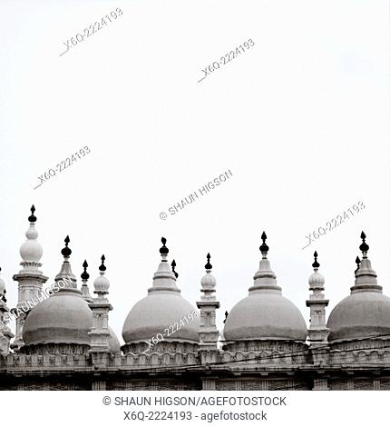 Tipu Sultan Shah Mosque Masjid in Calcutta Kolkata in West Bengal in India in South Asia