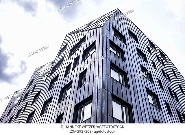 Newly built modern architecture in Tallinn, Estonia, Europe