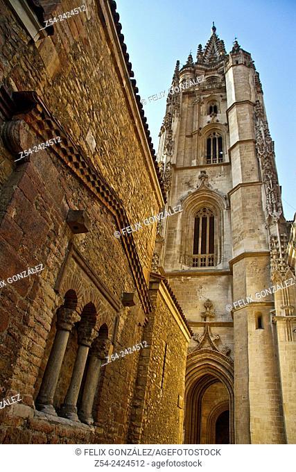 San Salvador Cathedral, Oviedo, Asturias, Spain