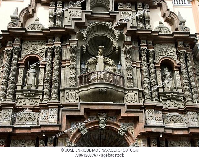 Peru. Lima city. Church of La Merced