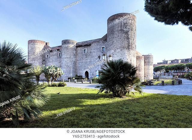 Castello Ursino, Catania, Sicily, Italy