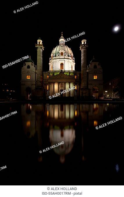 St Charles Church, Vienna, Austria