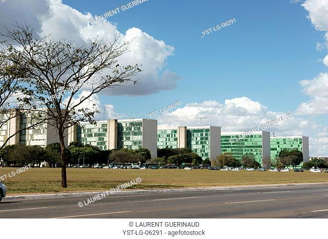 Esplanade Ministries, Distrito Federal, Brasília, Brazil