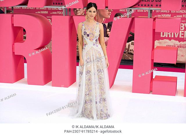 Eiza Gonzalez attends the European Premiere of BABY DRIVER. London, UK. 21/06/2017 | usage worldwide. - London/United Kingdom of Great Britain and Northern...