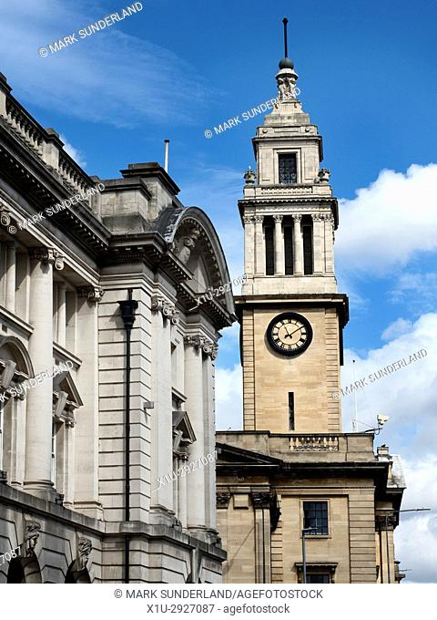 The Guildhall from Lowgate Hull Yorkshire England