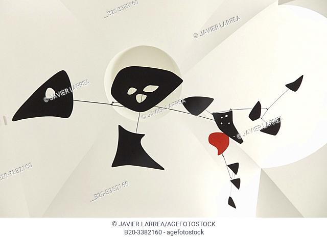 """Untitled"", 1955, Alexander Calder, Picasso Museum, Paris, France, Europe"