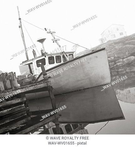 Fishing Boat, Peggy's Cove, Nova Scotia