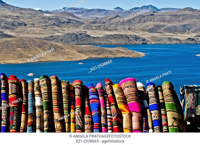 Lake Toward Puno, Peru