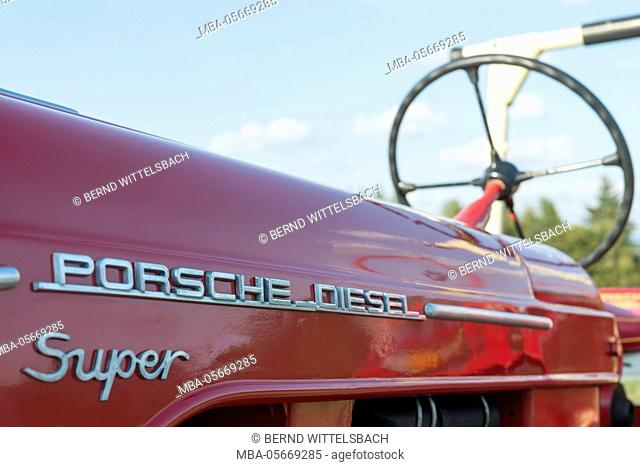 Breuberg, Hessen, Germany, Porsche Diesel 308 super, year of manufacture 1961, 38 HP, cubic capacity 2467, total weight 1615 kg