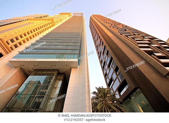 Skyscrapers, dubai, united arab emirates