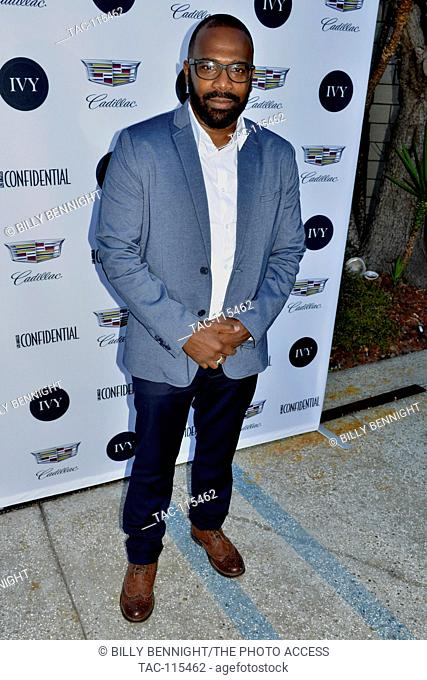Don Napoleon arrive at the IVY Innovator Film Awards Hosted by Josh Radnor at the SmogShoppe