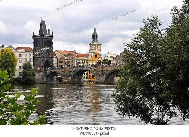 Old Town & Charles Bridge, Prague, Czech Republic