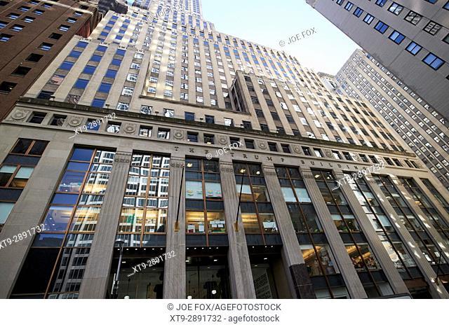 40 wall street the trump building New York City USA