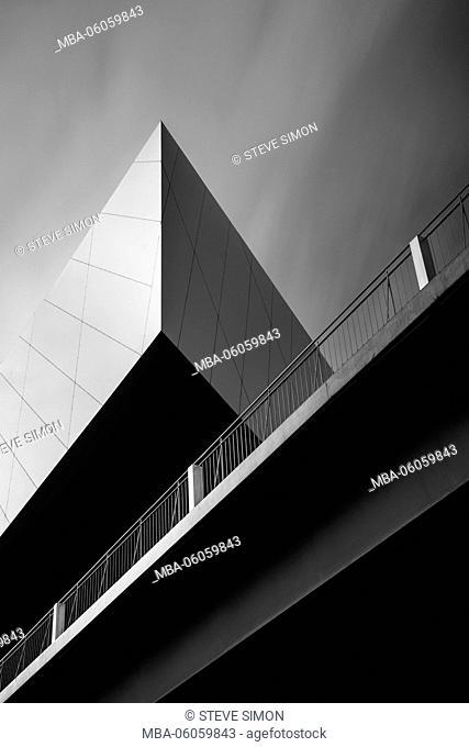 Phaeno abstractly, Wolfsburg, architecture shot