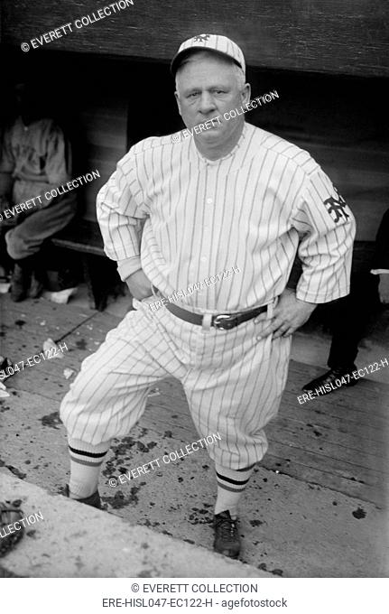 John McGraw was manager of the New York Giants baseball team from 1902-1932. McGraw was so seriously competitive, he would not allow players to smile in the...