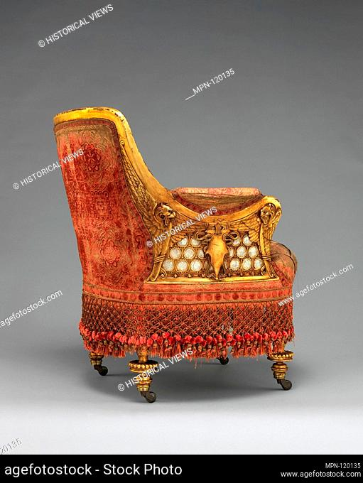 Armchair. Maker: Herter Brothers (German, active New York, 1864-1906); Date: 1881-82; Geography: Made in New York, New York