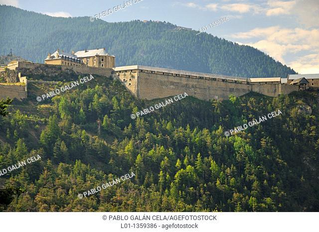 Fortaleza de Briançon, Alpes franceses