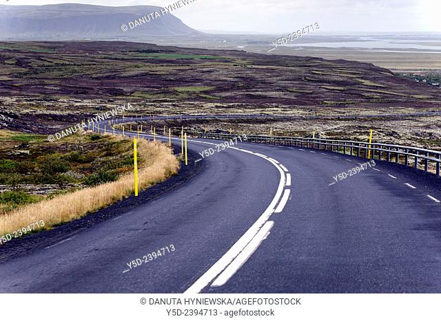 Route 1, the Ringroad, Highway, Southern Iceland