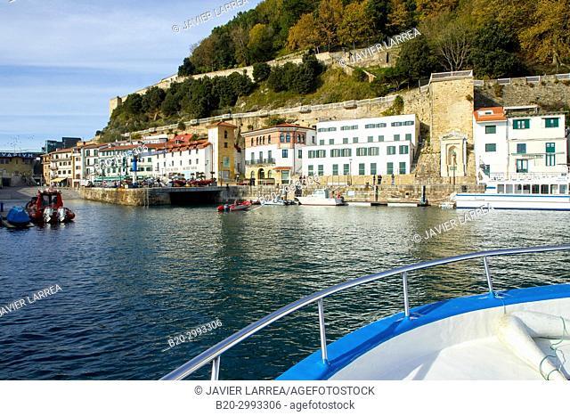 Port, Donostia, San Sebastian, Gipuzkoa, Basque Country, Spain, Europe