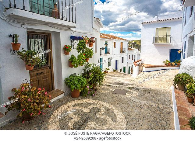 Spain, Malaga Province, Frigliana City,