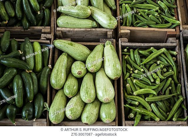 Produce in Fujairah market, Fujairah, United Arab Emirates