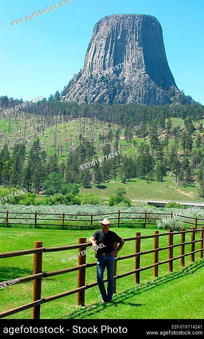 Devils Tower, National Monument, Cowboy