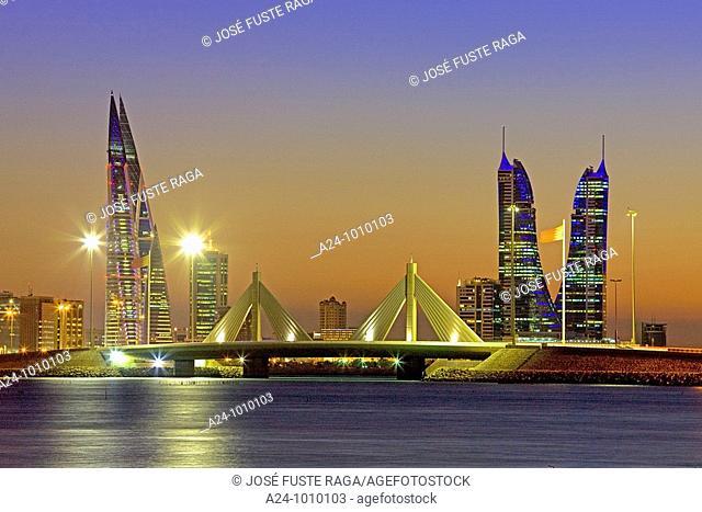 Muharraq Bridge, Manama, Bahrain