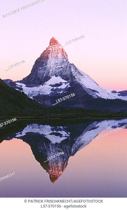 Matterhorn or Cervino. Alps. Switzerland
