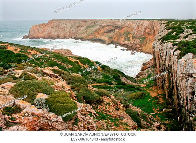 Cabo de Sao Vicente, the Most South Westerly point of Europe, Portugal