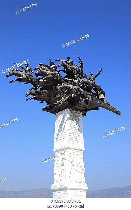 Sculpture is izmir turkey