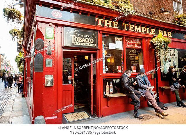Dublin, Temple Bar Street