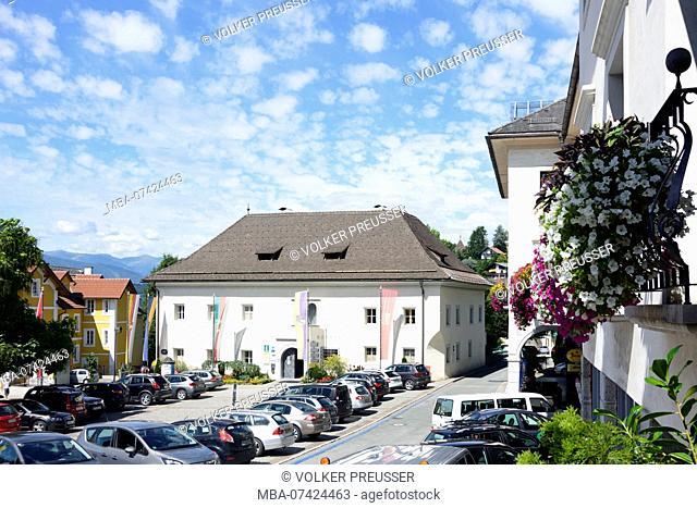 Millstatt am See, Main Square, Town Hall, Kärnten, Carinthia, Austria