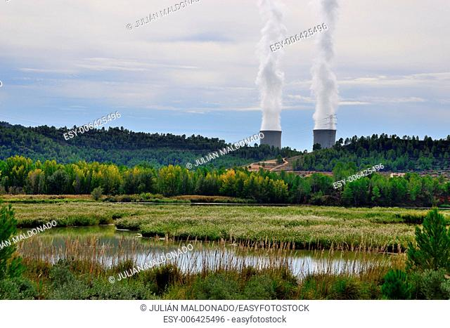 Nuclear plant in Cofrentes, Valencia, Spain
