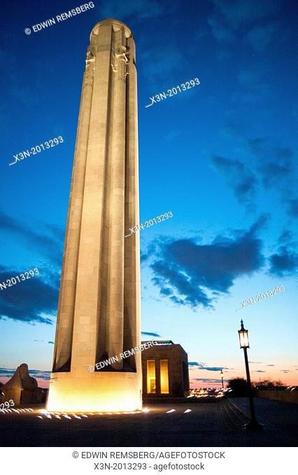 WWI monument, Kansas City MO